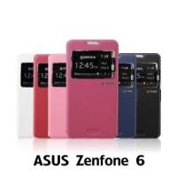 【GAMAX 嘉瑪仕】視窗商務側掀套 ASUS Zenfone 6