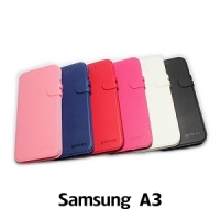 【GAMAX 嘉瑪仕】二代商務型站立側掀套 Samsung A3