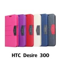 【GAMAX 嘉瑪仕】完美側掀站套 HTC Desire 300