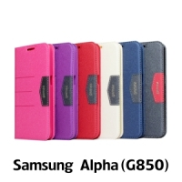 【GAMAX 嘉瑪仕】完美側掀站套 Samsung Alpha(G850)
