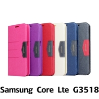 【GAMAX 嘉瑪仕】完美側掀站套 Samsung Core Lte G3518
