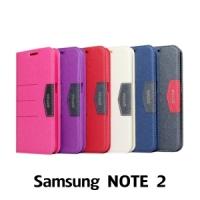【GAMAX 嘉瑪仕】完美側掀站套 Samsung NOTE 2