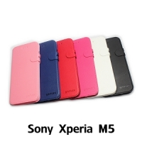 【GAMAX 嘉瑪仕】二代商務型站立側掀套 Sony Xperia M5