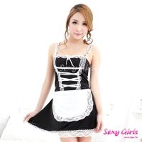 【Sexy Girls】情趣睡衣 女僕角色扮演二件式睡衣(CY-16000X16)