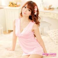 【Sexy Girls】情趣睡衣 性感雪纺睡裙二件式睡衣(CM-16007776)