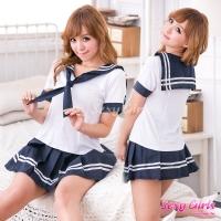 【Sexy Girls】情趣角色扮演 性感學生制服三件式睡衣(CA-17008117)