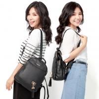 CHENSON 韓系女子 上班也能背的皮革後背包(CG81176-3)