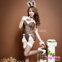 【Sexy Girls】情趣角色扮演 俏皮兔女郎七件套睡衣(CF-18006653)