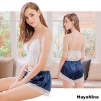 【Naya Nina】睫毛蕾絲小可愛二件式居家睡衣(NA19100099)