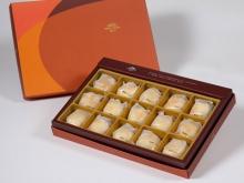 【御藏】漢坊金沙小月15入禮盒(蛋奶素)