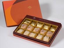 【御藏】綜合15入禮盒★土鳳梨酥*5+沖繩黑糖蛋黃酥*5+綠豆小月餅*5(蛋奶素)