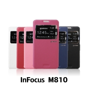 【GAMAX 嘉瑪仕】視窗商務側掀套 InFocus M810
