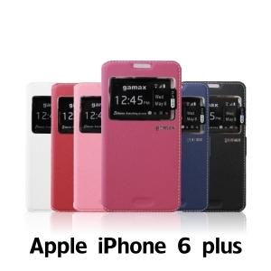 【GAMAX 嘉瑪仕】視窗商務側掀套 Apple iPhone 6 plus