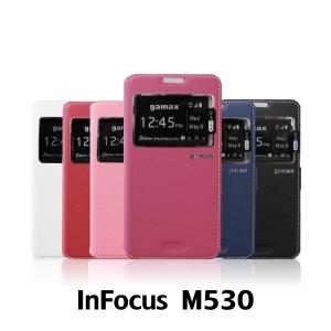 【GAMAX 嘉瑪仕】視窗商務側掀套 InFocus M530