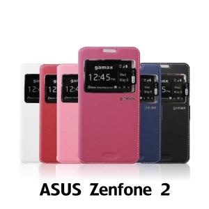 【GAMAX 嘉瑪仕】視窗商務側掀套 ASUS ZenFone 2 (5.5吋)