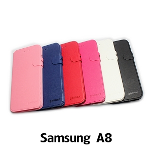 【GAMAX 嘉瑪仕】二代商務型站立側掀套 Samsung A8