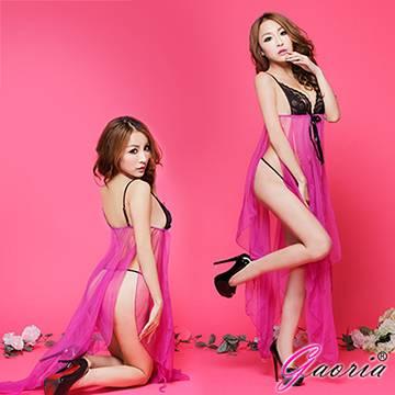 【Gaoria】優雅戀香 優雅長裙式睡裙睡衣(N3-0012)