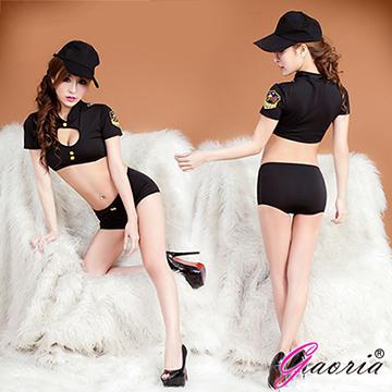 【Gaoria】偷心小偷 性感女警 角色扮演 制服 情趣睡衣角色服(N3-0049)
