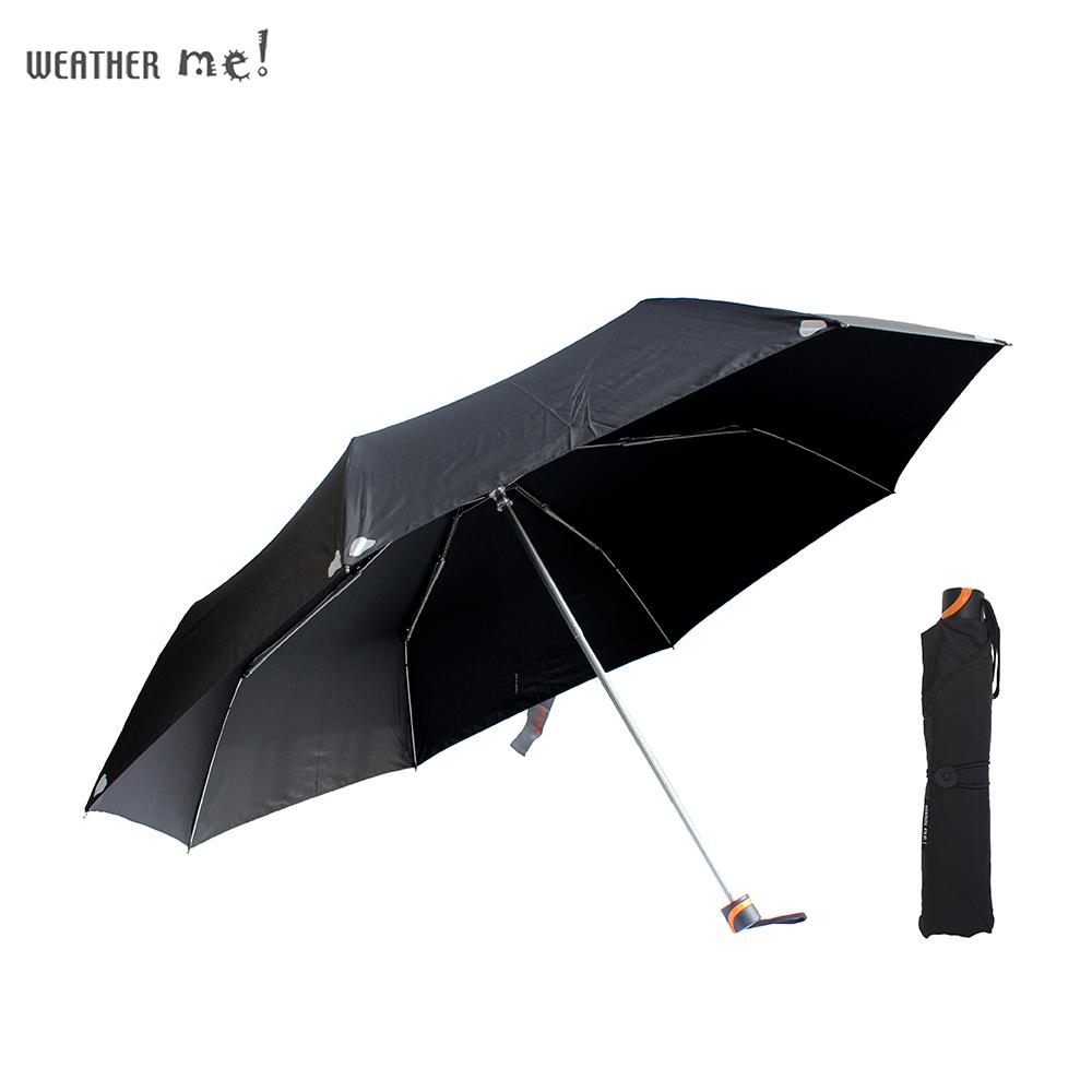 機能面料49吋手開大傘-好感系(夜色黑)
