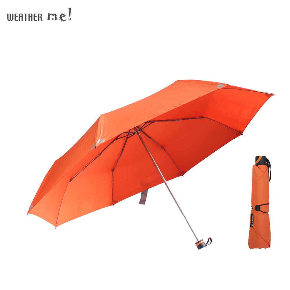 機能面料49吋手開大傘-好感系(暖陽橘)
