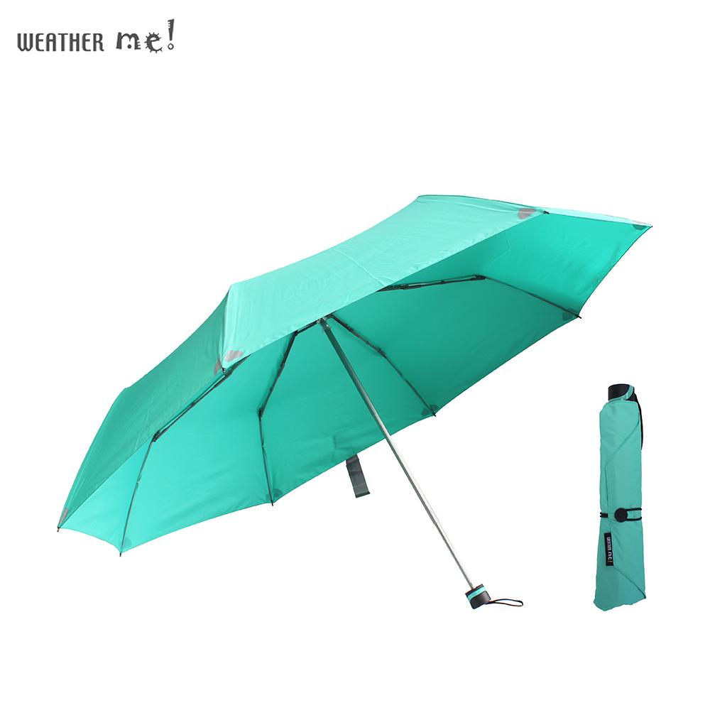 機能面料49吋手開大傘-好感系(薄荷綠)