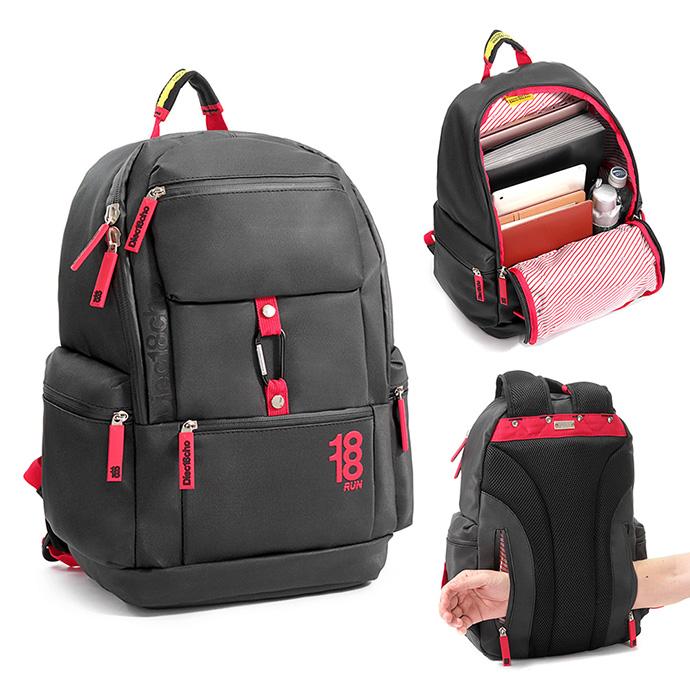X-SPORTS 防水商務 6個外口袋筆電背包(1861216-3)