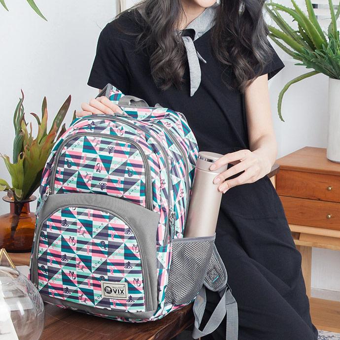 1818 上學/逛街/買菜必備2主袋後背包(CG29970-G2)